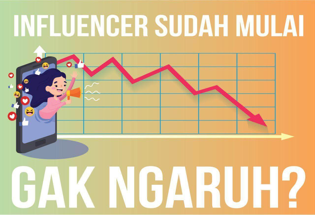 Pengaruh Influencer Pada Social Media Turun
